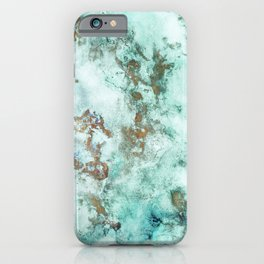 MARBLE - INKED INCEPTION - GOLD & ICE iPhone Case