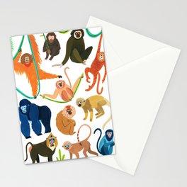 Jungle Monkeys Stationery Cards