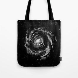 Dark Spiral Tote Bag