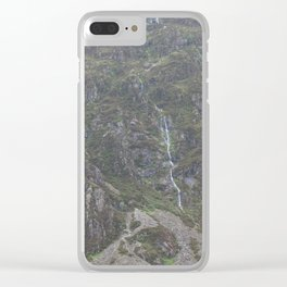 Wales Landscape 12 Cader Idris Clear iPhone Case