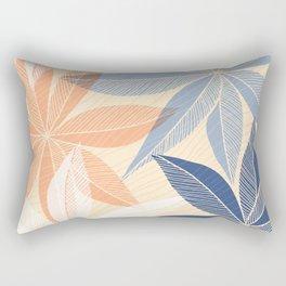Modern Hawaiian Print II Rectangular Pillow