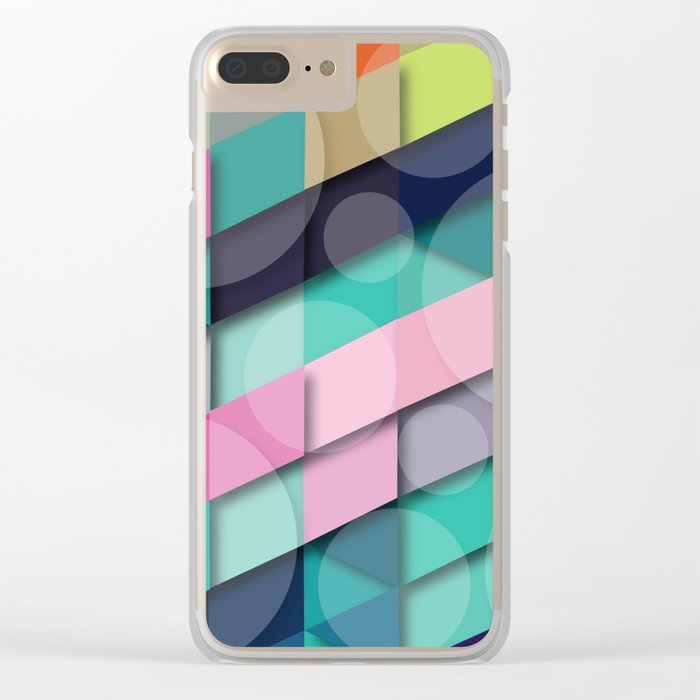 Beautiful Times Clear iPhone Case