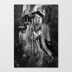 COTTAAGE TREE Canvas Print