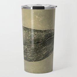 Damask Whale  Travel Mug