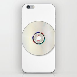 Blank DVD  iPhone Skin