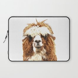 Alpaca Portrait Laptop Sleeve