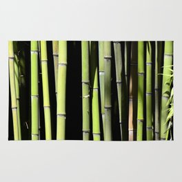 Bamboo forest Rug
