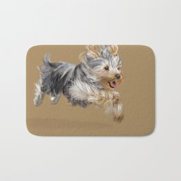 A Yorkie called Joy Bath Mat