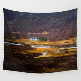 Tiny White House Wall Tapestry