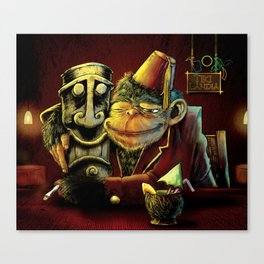 Last Call At Tikilandia Canvas Print
