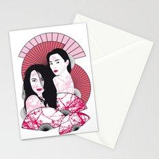 Les Femmes de l'est Stationery Cards