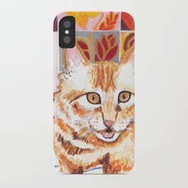 Gouache Cat  iPhone Case
