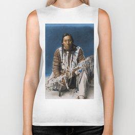 A medicine pipe - Blackfoot - American Indian Biker Tank