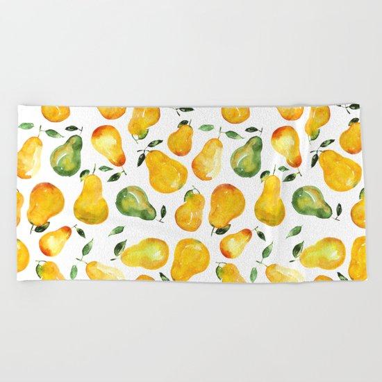 Sweet pears Beach Towel