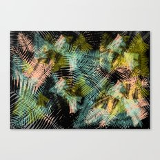 PALM COLLAGE Canvas Print