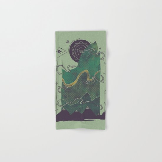 Northern Nightsky Hand & Bath Towel