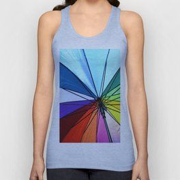 Umbrella Unisex Tank Top