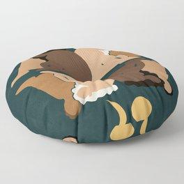Sisters II Floor Pillow