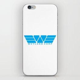 Weyland Corp - Blue iPhone Skin