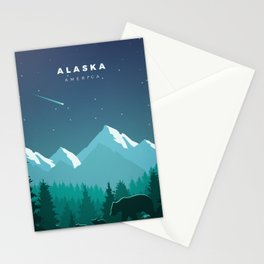 Alaska Stationery Cards