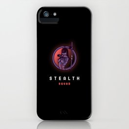 Stealth Squad iPhone Case