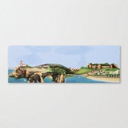 Algarve landscape Canvas Print