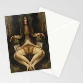 Grotesque Symmetry 1 Stationery Cards