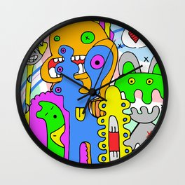 Mad Together Wall Clock