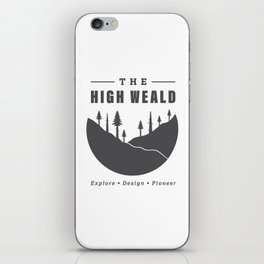 Into the High Weald iPhone Skin