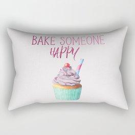 Bake Someone Happy Rectangular Pillow
