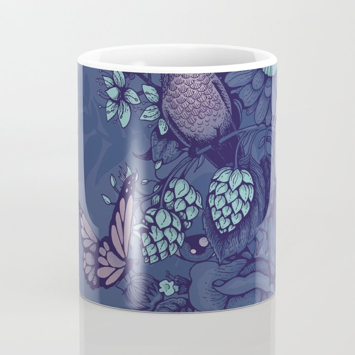 Beauty (eye of the beholder) - neon version Coffee Mug