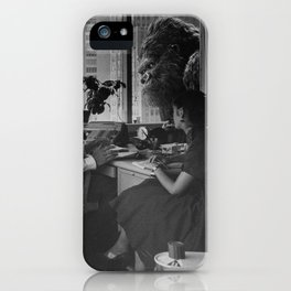 Old Time King Kong Office Rumble iPhone Case