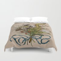 north carolina Duvet Covers featuring North Carolina Memories by Jessica Roux