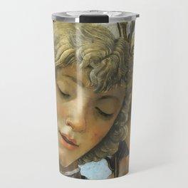 Sandro Botticelli - Angels 1. detail Travel Mug