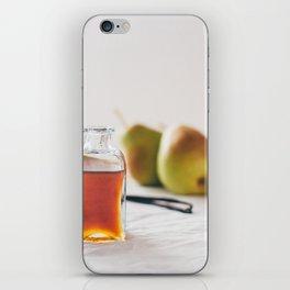 Pear and Vanilla Love iPhone Skin