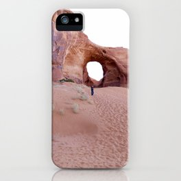 The Ear, the Backcountry, the Sand, and my Dad iPhone Case
