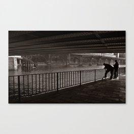 Autumnal Symphony of a Metropolis Canvas Print