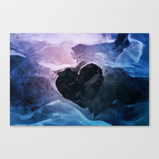 Cold Love Canvas Print