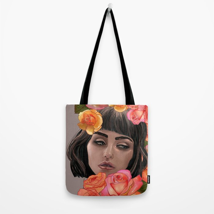 Buried in Petal Tote Bag
