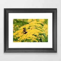 Bright Buds Framed Art Print