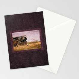 No Trespassing or Hunting Stamped Stationery Cards