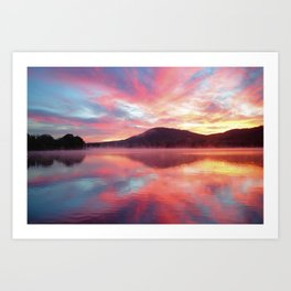 Sunrise: Fire Above and Fire Below Art Print
