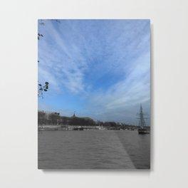 Paris La Seine Metal Print