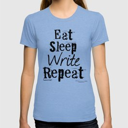 Eat Sleep Write Repeat T-shirt