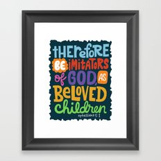 Ephesians 5 Framed Art Print