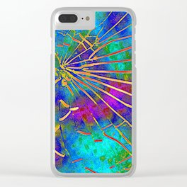 Shattered Clear iPhone Case