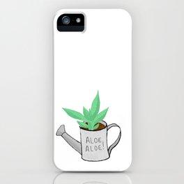 Aloe Aloe! iPhone Case