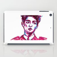 shinee iPad Cases featuring SHINee Minho Everybody by sophillustration