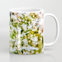 Diamond OG Kush Strain Top Shelf Indoor Hydro Trichomes Close Up View Coffee Mug