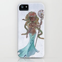 Mami Wata Medusa iPhone Case